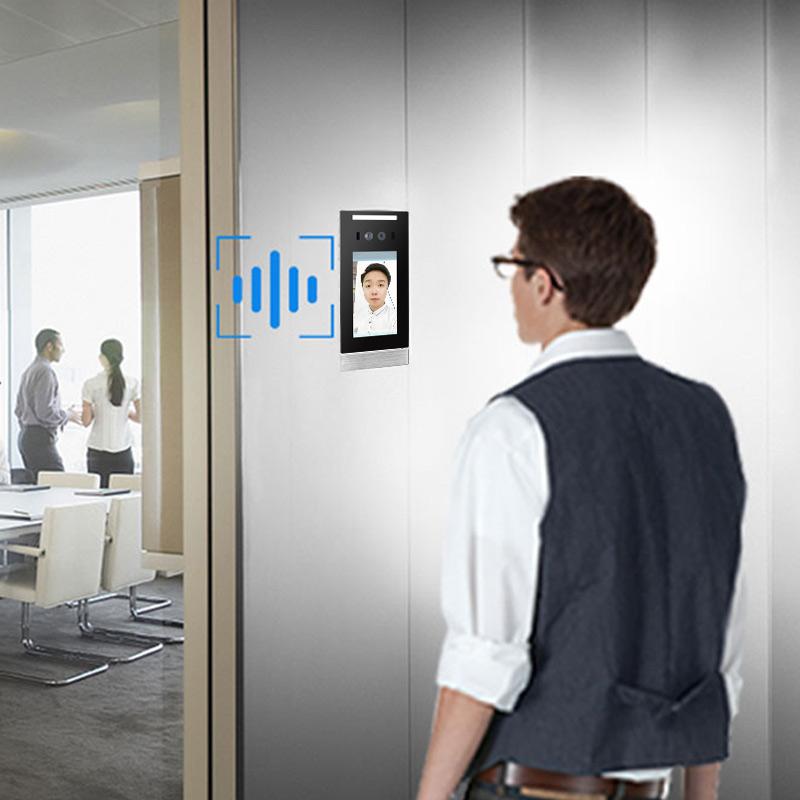 人脸识别考勤机智能打卡自动保存,是公司考勤管理满意之选_深圳捷易科技